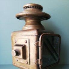 Antigüedades: ANTIGUO FAROL DE CARRO O SIMILAR - VER FOTOS. Lote 285501733