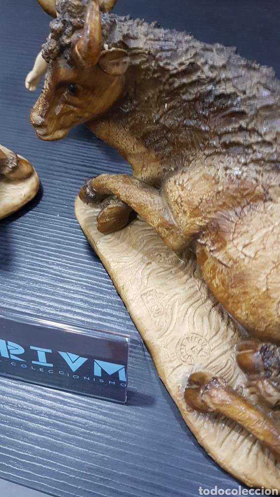 Antigüedades: Piezas de belen o nacimiento Ortigas gran tamaño - Foto 3 - 285478393