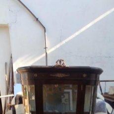 Antigüedades: VITRINA ESTILO ISABELINA. Lote 285582458