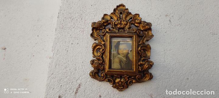 PORTAFOTOS DE TERRACOTA (Antigüedades - Hogar y Decoración - Marcos Antiguos)