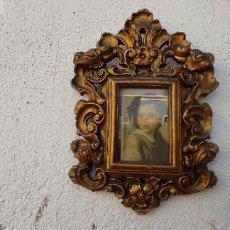Antigüedades: PORTAFOTOS DE TERRACOTA. Lote 285592508