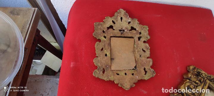 Antigüedades: portafotos de terracota - Foto 2 - 285592508