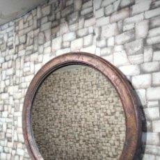 Antigüedades: BONITO ESPEJO CON MARCO DECORATIVO. Lote 285612593
