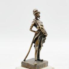 Antigüedades: FIGURA DE BRONCE. Lote 285646178