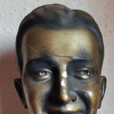 Antigüedades: (PUB-210903)BUSTO DE ESTUCO PARA BOINAS ELOSEGUI - PROCEDENCIAS TIENDA DE GRAUS(HUESCA). Lote 285743008