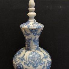Antigüedades: PRECIOSO JARRÓN DE OPALINA BLANCA / MANUFACTURA, J. CERVERA-BARCELONA / 42 CM ALTO. LEER. Lote 285749278