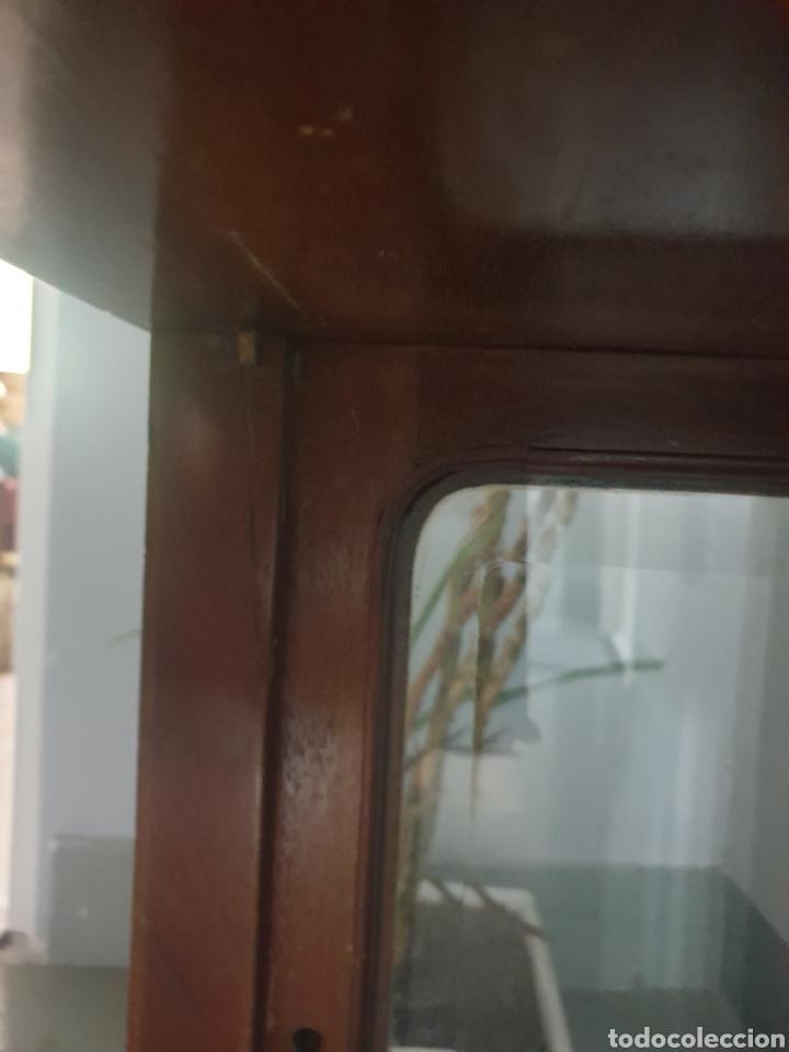 Antigüedades: VITRINA SOBREMESA DE CAOBA RUBIA PRINCIPIOS DEL S.XX SOLO RECOGIDA LOCAL - Foto 10 - 285752508