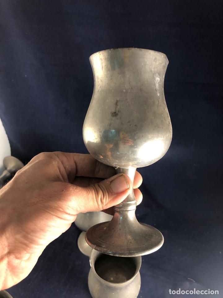 Antigüedades: Copas de metal - Foto 4 - 285969088