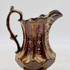 Antiquités: ANTIGUA JARRA BRISTOL ESMALTADA. Lote 285976443