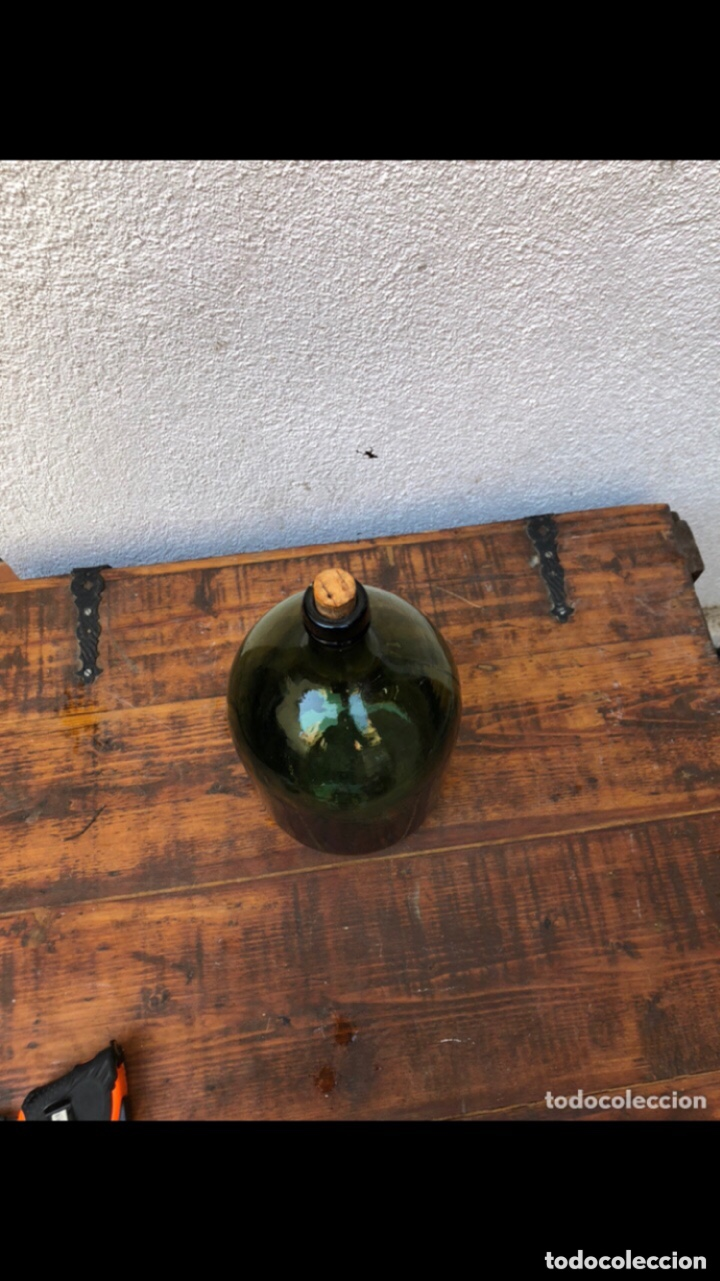 Antigüedades: FRASCA DE CRISTAL DE PERFUME . Marcada 4 en la base . Ver fotos - Foto 5 - 285991018