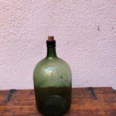 Antigüedades: FRASCA DE CRISTAL DE PERFUME . MARCADA 4 EN LA BASE . VER FOTOS. Lote 285991018