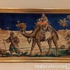 Antigüedades: TAPIZ ANTIGUO AFRICA. AÑOS 60. 105 X 58 CM. Lote 285992808