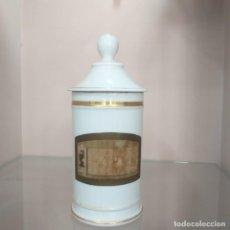 Antigüedades: ANTIGUO ALBARERO FARMACIA 26 X 12 CM.. Lote 286149533