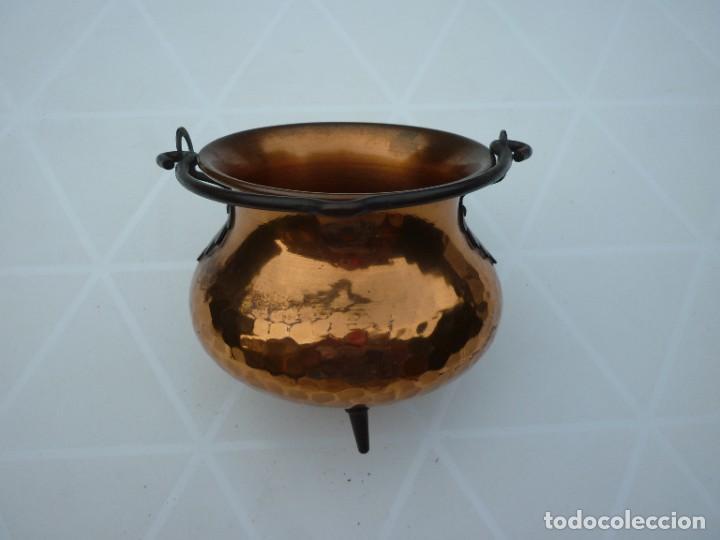 Antigüedades: PEQUEÑA OLLA DE COBRE - Foto 4 - 286171253