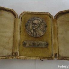 Antigüedades: ANTIGUA CAJA DE SAN IGNACIO DE LOYOLA, TIPO RELICARIO. --- 16. Lote 286235288