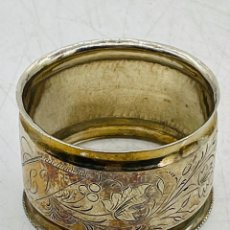 Antigüedades: SERVILLETERO DE PLATA. Lote 286236178