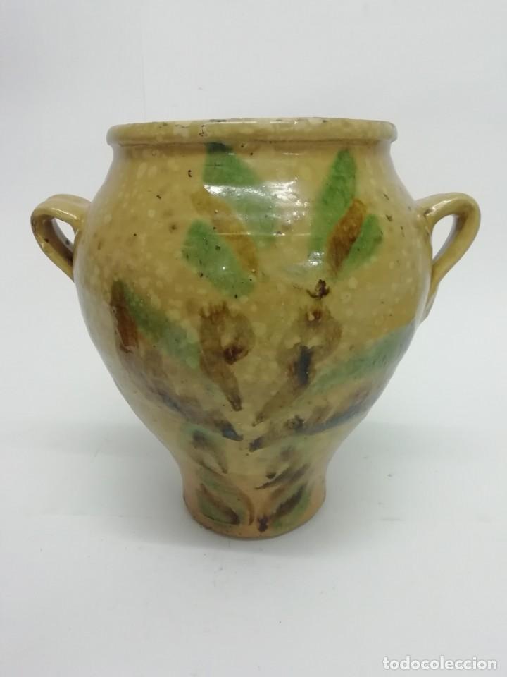 MUY BONITA OLLA DE LUCENA, CÓRDOBA PRINCIPIOS SIGLO XX (Antigüedades - Porcelanas y Cerámicas - Lucena)