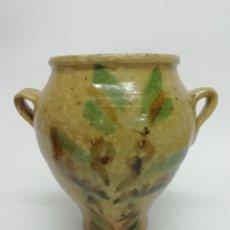 Antigüedades: MUY BONITA OLLA DE LUCENA, CÓRDOBA PRINCIPIOS SIGLO XX. Lote 286244628