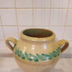 Antigüedades: PEQUEÑA ORZA DE LUCENA. Lote 286319798