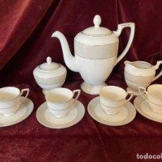 Antigüedades: JUEGO DE CAFÉ. Lote 286321823