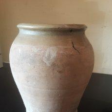 Antiguidades: TINAJA JARRÓN DE BARRO. Lote 286402098