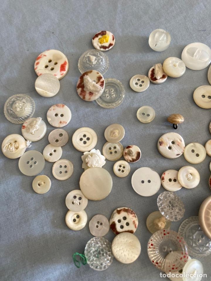 Antigüedades: Lote antiguo de botones - Foto 3 - 286416723