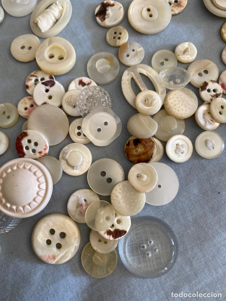 Antigüedades: Lote antiguo de botones - Foto 4 - 286416723