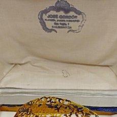 Antigüedades: PEINETA CAREY EN CAJA. PRINCIPIOS DEL SIGLO XX. Lote 286430533