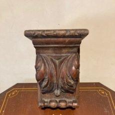 Antigüedades: BONITA MENSULAS DE MADERA ANTIGUA. Lote 286464658