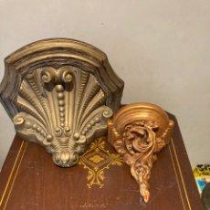 Antigüedades: BONITA PAREJA DE MENSULAS. Lote 286465023