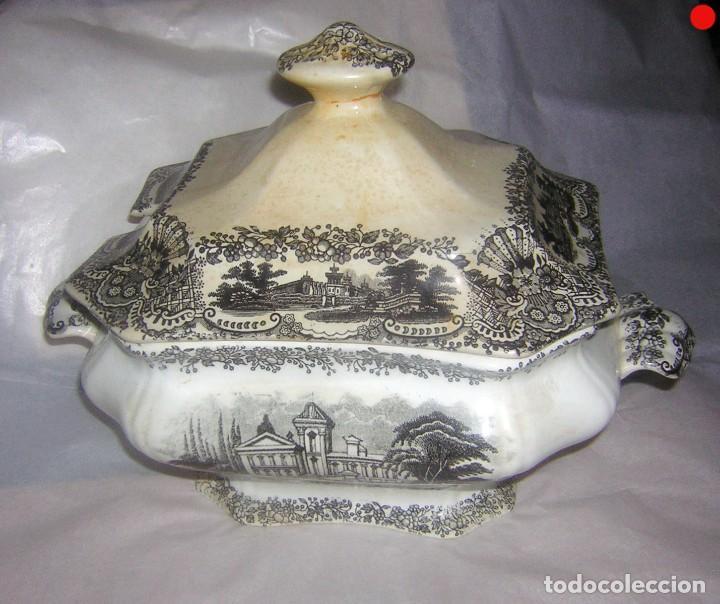 SOPERA DE PICKMAN LA CARTUJA (Antigüedades - Porcelanas y Cerámicas - La Cartuja Pickman)