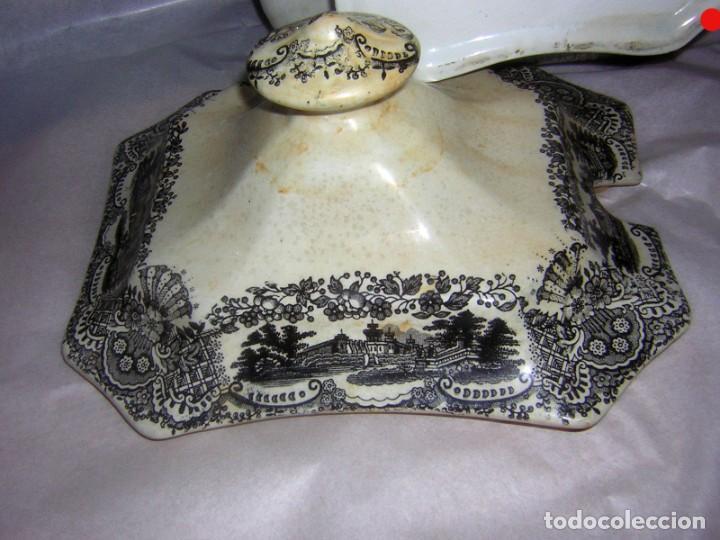 Antigüedades: SOPERA DE PICKMAN LA CARTUJA - Foto 8 - 286519023