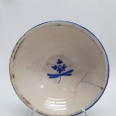 Antigüedades: ANTIGUO PLATO DE TALAVERA, TOLEDO O MENASALBAS SIGLO XIX. Lote 286626358