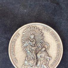 Antigüedades: LA PURÍSIMA DE LOS LIRIOS MILAGROSOS. Lote 286643763