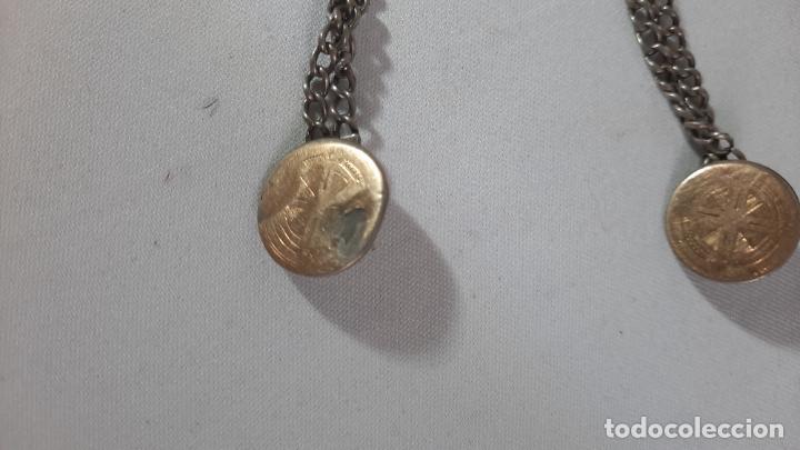 Antigüedades: hebilla de gaucho en plata de ley dorada siglo xix 170gr, rastra - Foto 9 - 286665868