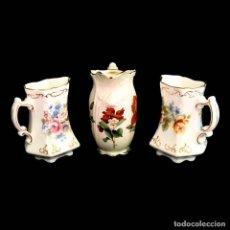 Antigüedades: 3 BELLAS JARRAS DE PORCELANA INGLESA. Lote 286699948