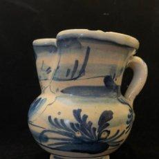 Antiquités: JARRA CATALANA DEFECTOS RESEÑADOS EN FOTOS. Lote 286728458