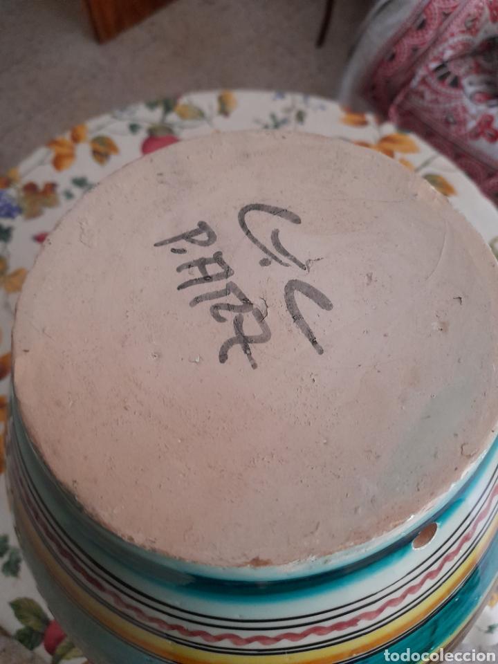 Antigüedades: Magnífico cántaro de cerámica de Puente del Arzobispo, de 44cm de altura - Foto 5 - 286782653