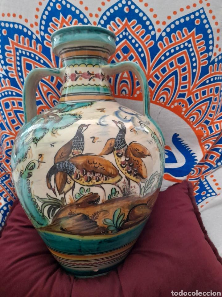 Antigüedades: Magnífico cántaro de cerámica de Puente del Arzobispo, de 44cm de altura - Foto 6 - 286782653