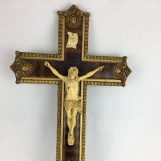 Antigüedades: CRUCIFIJO RELIGIOSO 32 X 53 CM. Lote 286816383