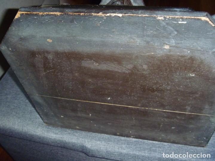 Antigüedades: GRAN MÉNSULA PEANA DRAGÓN ALADO 150 AÑOS ESTILO HARRY POTTER DRAGÓN WIKI - Foto 9 - 286828598