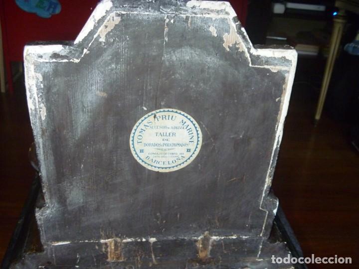 Antigüedades: GRAN MÉNSULA PEANA DRAGÓN ALADO 150 AÑOS ESTILO HARRY POTTER DRAGÓN WIKI - Foto 10 - 286828598