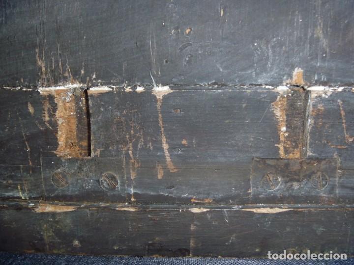 Antigüedades: GRAN MÉNSULA PEANA DRAGÓN ALADO 150 AÑOS ESTILO HARRY POTTER DRAGÓN WIKI - Foto 11 - 286828598