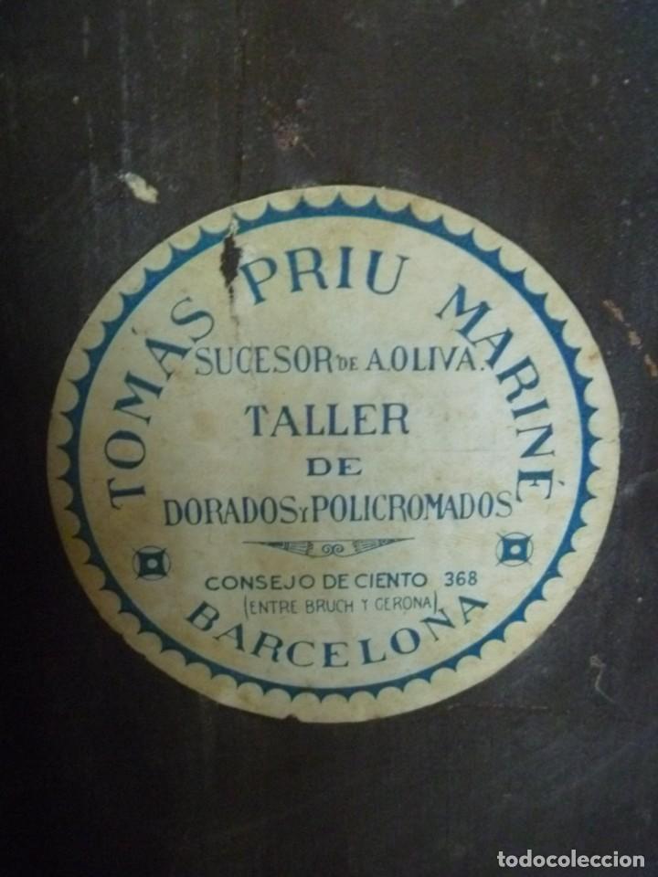 Antigüedades: GRAN MÉNSULA PEANA DRAGÓN ALADO 150 AÑOS ESTILO HARRY POTTER DRAGÓN WIKI - Foto 13 - 286828598