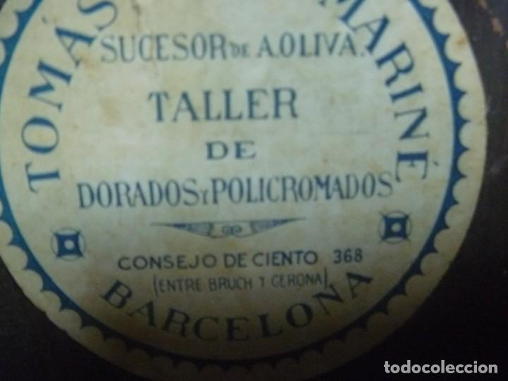 Antigüedades: GRAN MÉNSULA PEANA DRAGÓN ALADO 150 AÑOS ESTILO HARRY POTTER DRAGÓN WIKI - Foto 14 - 286828598