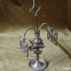 Oggetti Antichi: MINI CANDIL BRONCE, 23 CM ALTO. Lote 286832403