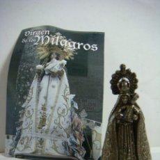 Antiguidades: FIGURITA METALICA DE LA VIRGEN DE LOS MILAGROS LOTE DE 20 FIGURAS-(&). Lote 286922113