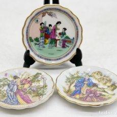 Antiquités: PLATOS PORCELANA CHINA. Lote 286923748
