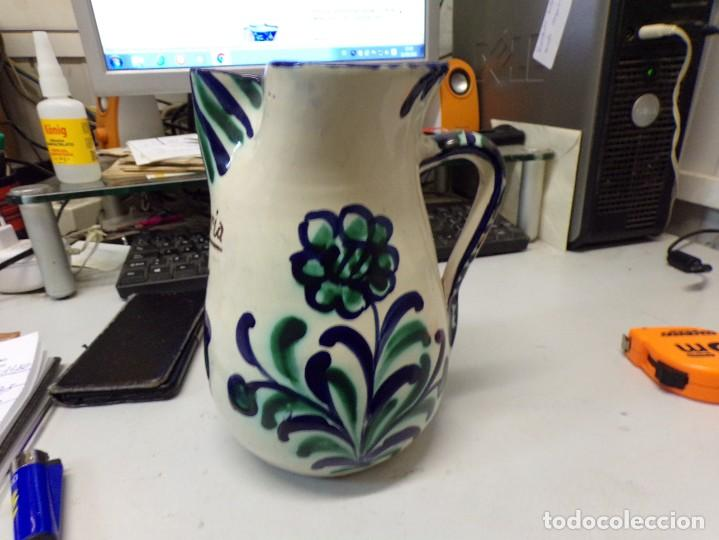 Antigüedades: jarra porcelana ceramica de fajalauza alfajalauza sangria - Foto 3 - 286965423