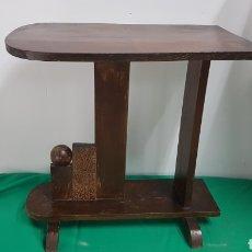 Antigüedades: MAGNIFICA MESITA AUXILIAR AÑOS 40 ZXY. Lote 286999093